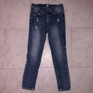 7 for all mankind kids blue jeans